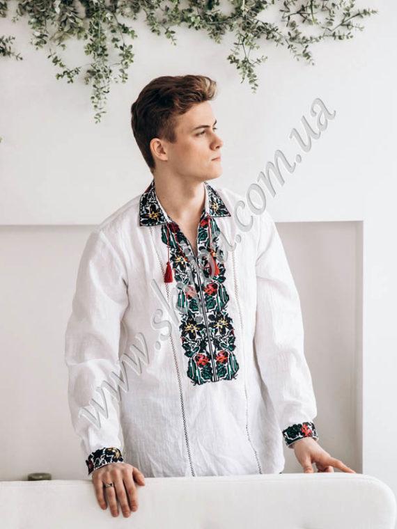 Мужская вышитая рубашка СК1751