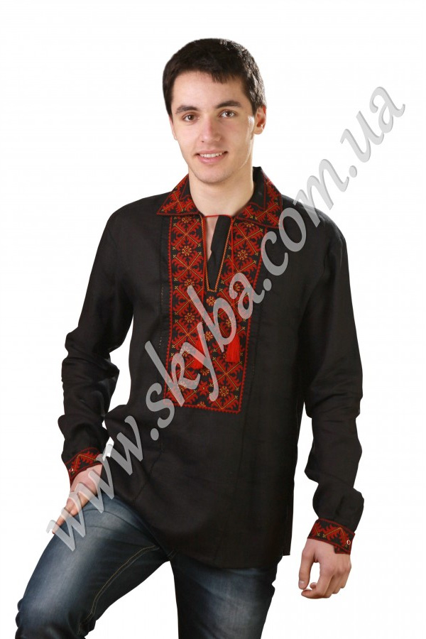 Чоловіча вишита сорочка СК1011