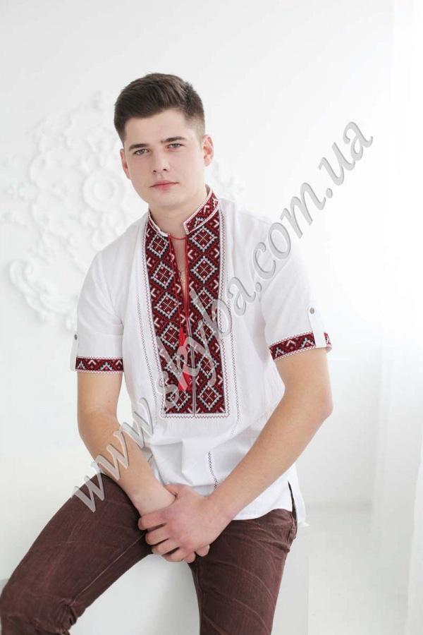 Чоловіча вишита сорочка СК1024кр