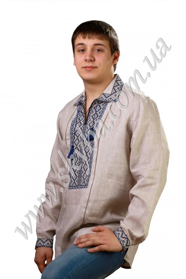 Мужская вышитая рубашка СК1031