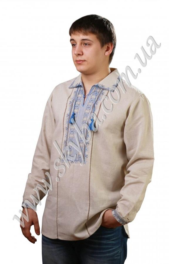 Мужская вышитая рубашка СК1041