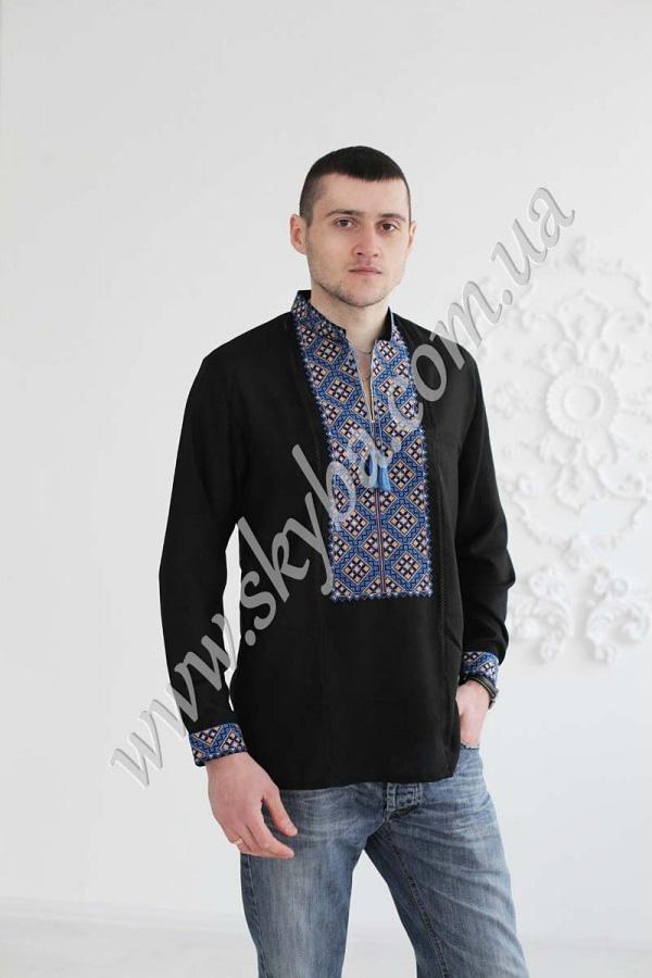 Мужская вышитая рубашка СК1061