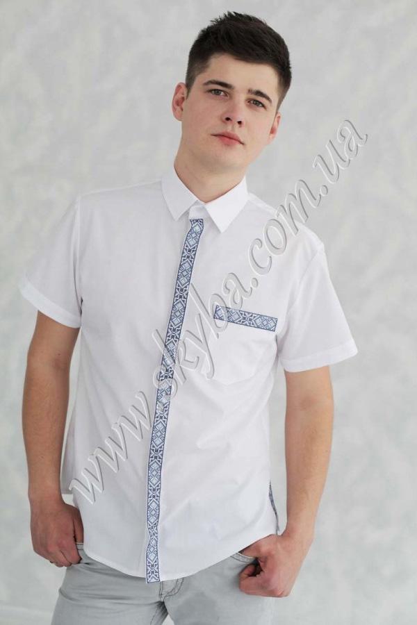 Мужская вышитая рубашка СК1062