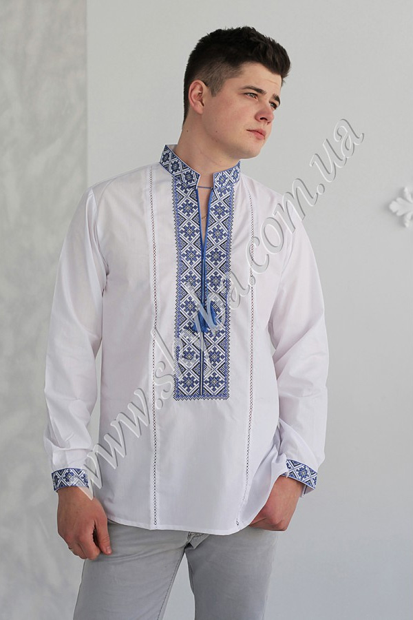 Мужская вышитая рубашка СК1071