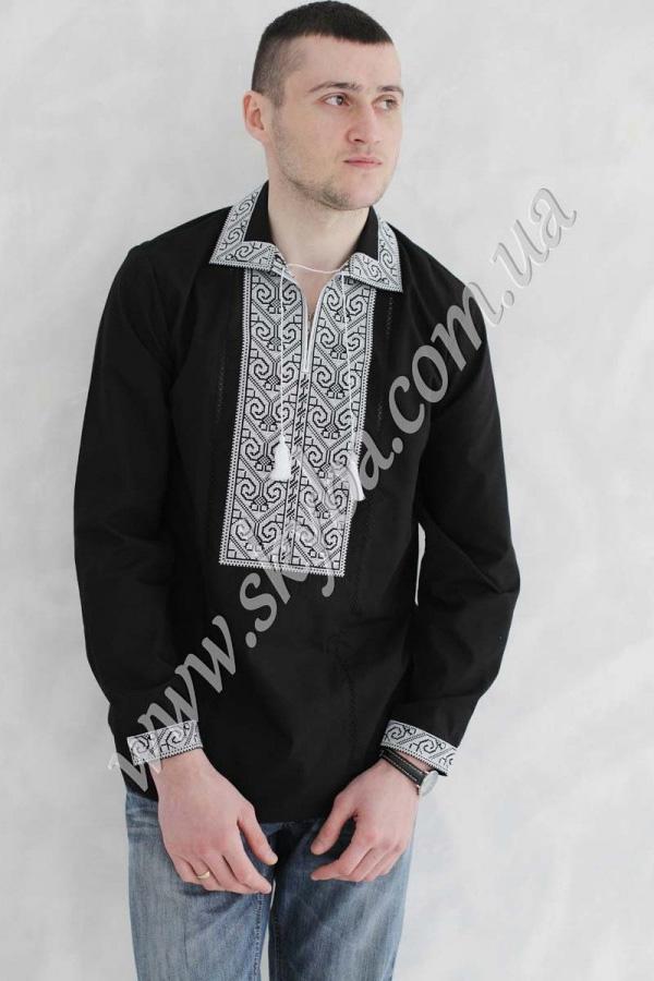 Мужская вышитая рубашка СК1091