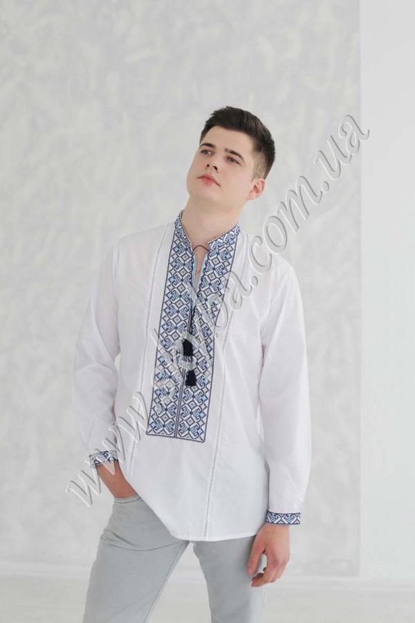 Мужская вышитая рубашка СК1151