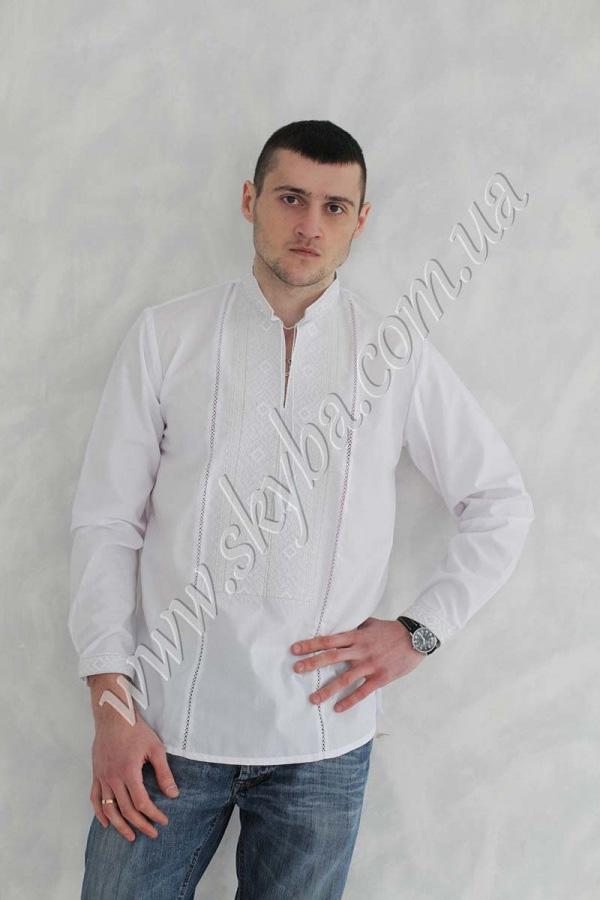 Мужская вышитая рубашка СК1161