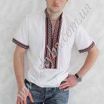 Мужская вышитая рубашка СК1231кр