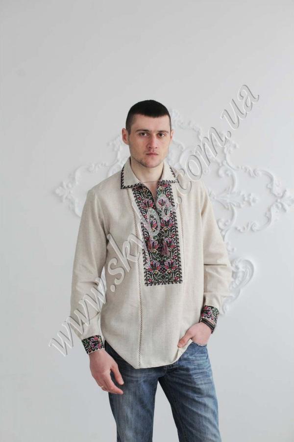 Чоловіча вишита сорочка СК1391