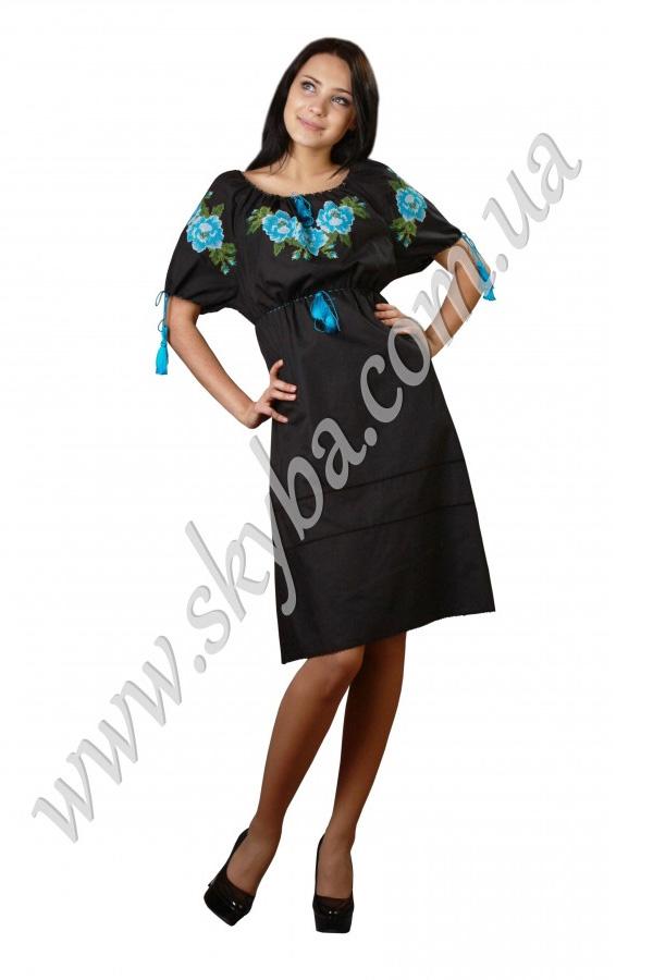 """Жіноча сукня СК6042 з рукавами у формі """"кажан"""""""