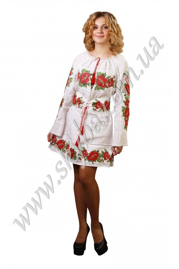 Женское платье СК6113 короткое с поясом-корсетом