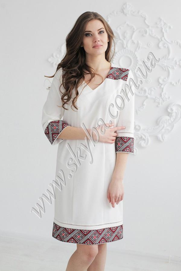 Жіноча сукня СК6201 з v-подібним вирізом