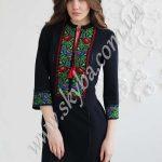 Женское платье СК6361 с яркой вышивкой
