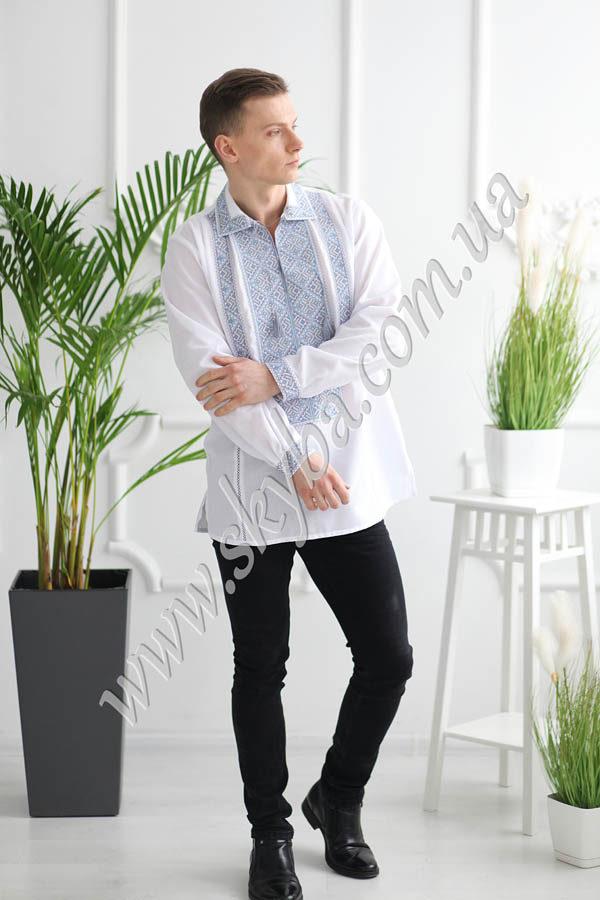 Мужская вышитая рубашка СК1022