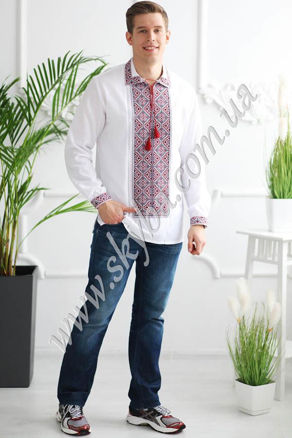 Чоловіча вишита сорочка СК1021L
