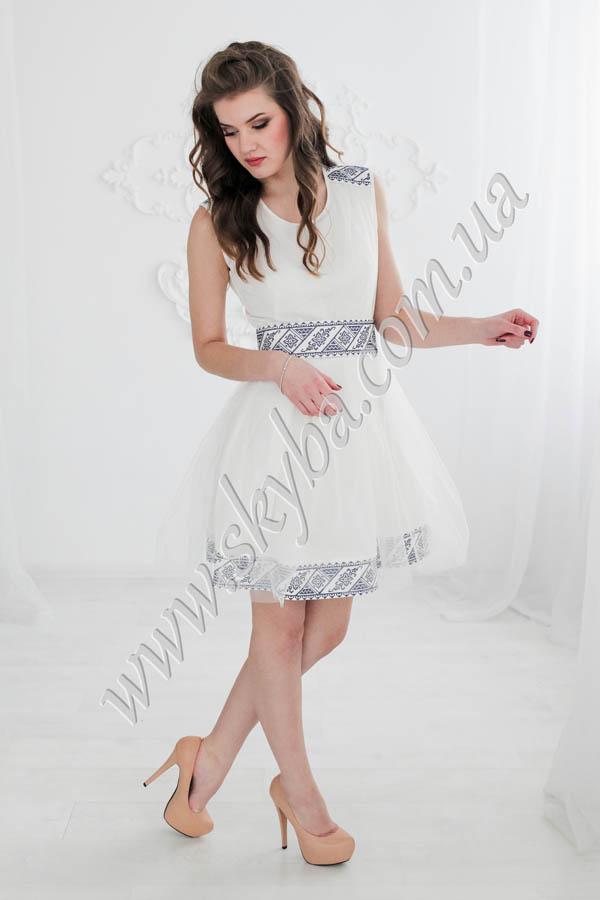 Жіноча сукня СК6331 з спідничкою з фатіну