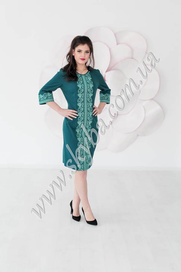 Жіноча сукня СК6333 з розширеними до низу рукавами