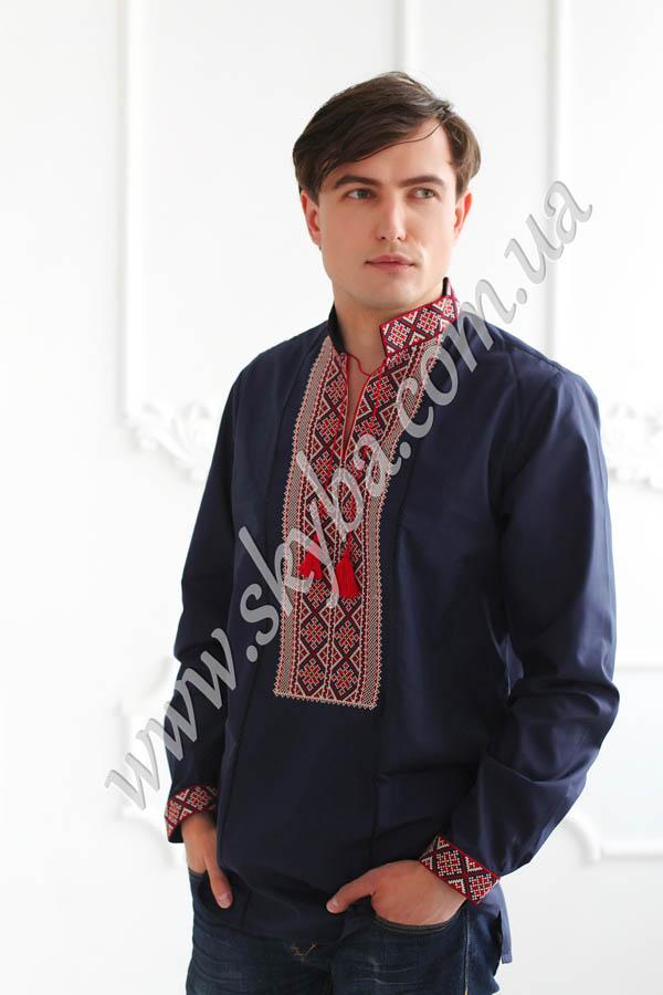 Мужская вышитая рубашка СК1072