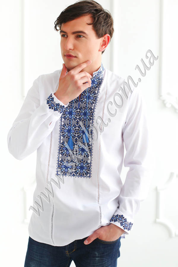 Мужская вышитая рубашка СК1191