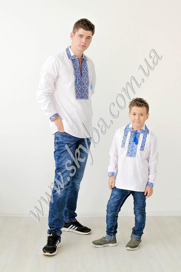 Сорочка для хлопчиків СК3021