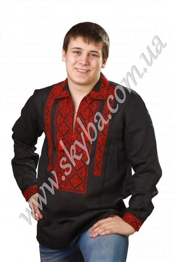 Чоловіча вишита сорочка СК1022