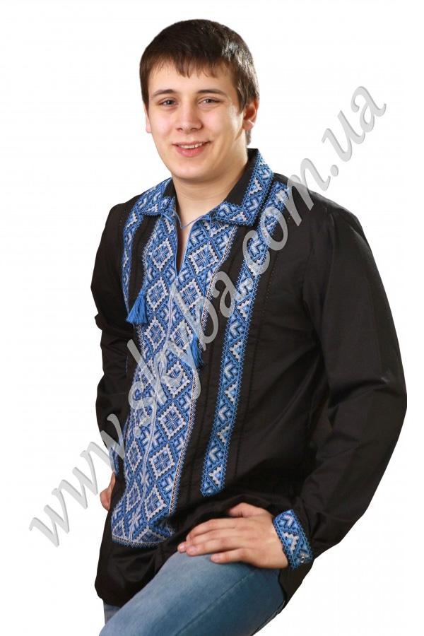 Мужская вышитая рубашка СК1022L