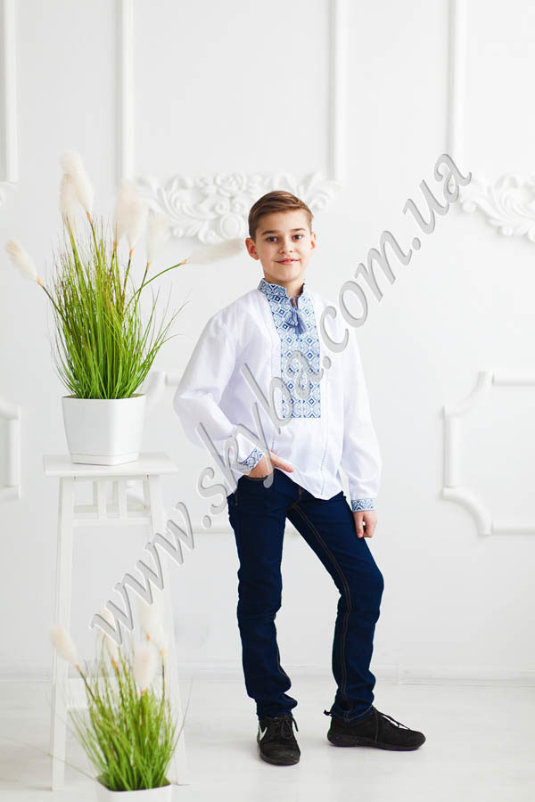 Сорочка для хлопчиків СК3152