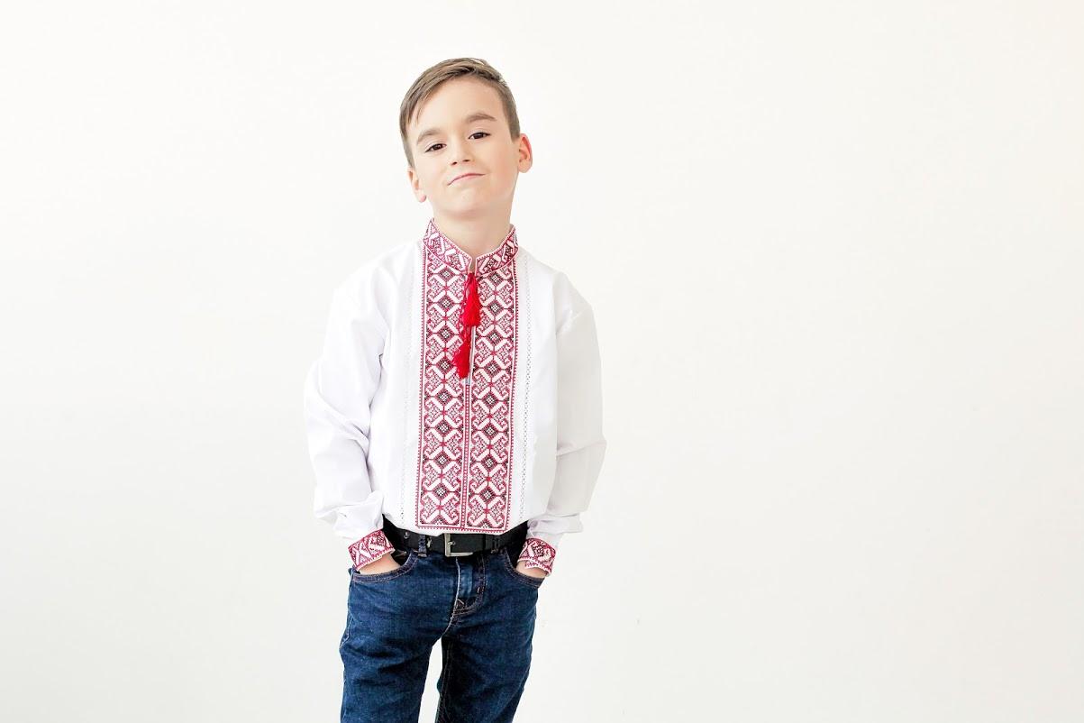 Вишита сорочка для хлопчика до дня Святого Миколая - Skyba f4300ca6e3f87