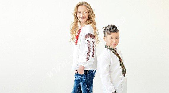 Дитячі вишиванки
