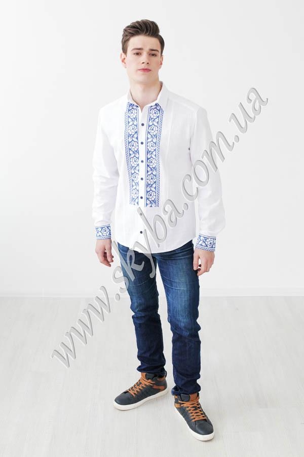 Чоловіча вишита сорочка СК1431