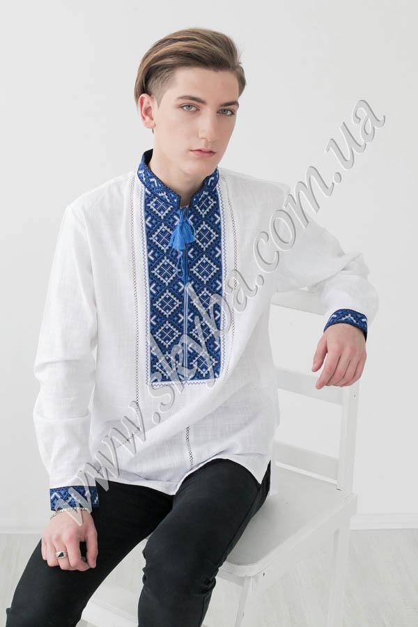Мужская вышитая рубашка СК1024