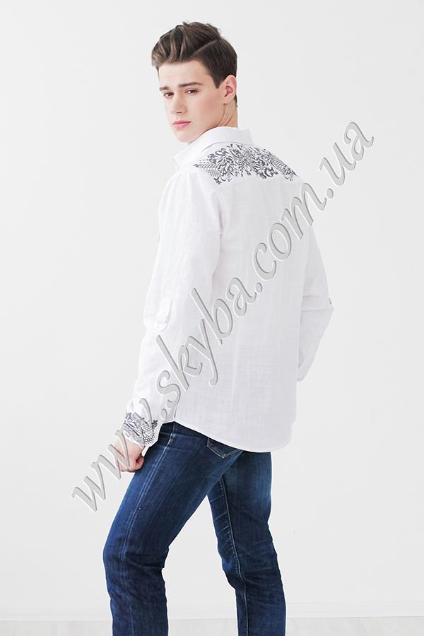 Мужская вышитая рубашка СК1241