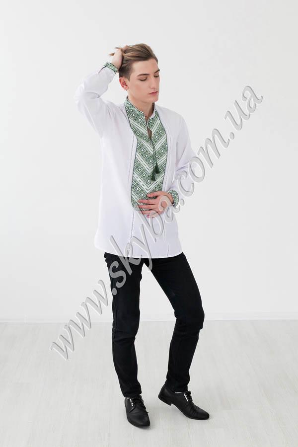 Мужская вышитая рубашка СК1261