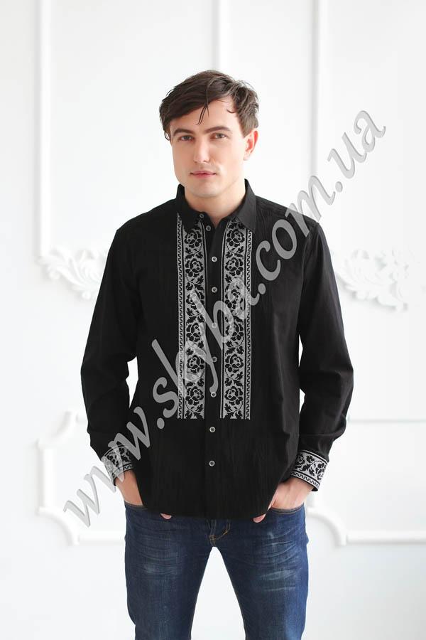 Мужская вышитая рубашка СК1431