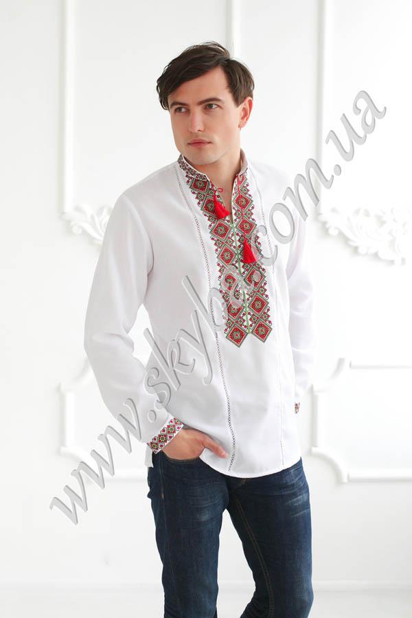 Чоловіча вишита сорочка СК1411
