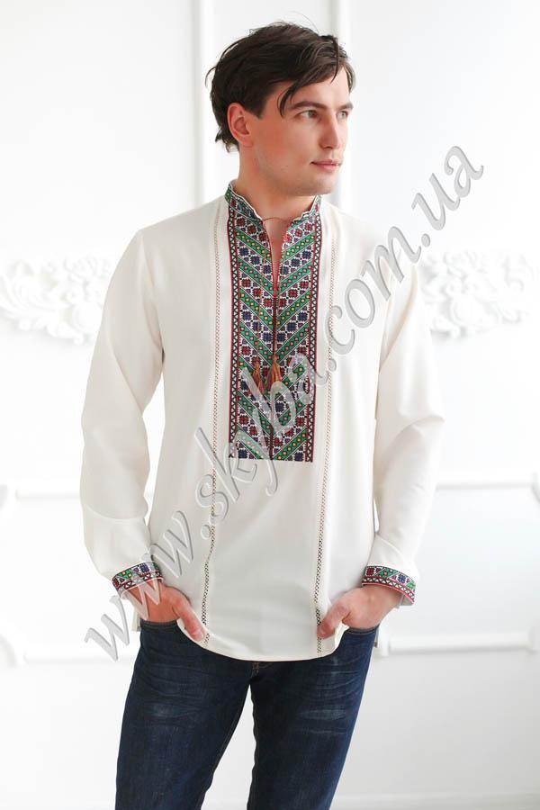 Мужская вышитая рубашка СК1481