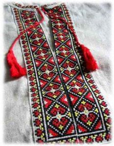 орнамент украинской вышиванки