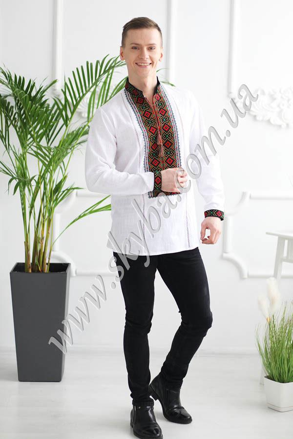Чоловіча вишита сорочка СК1162