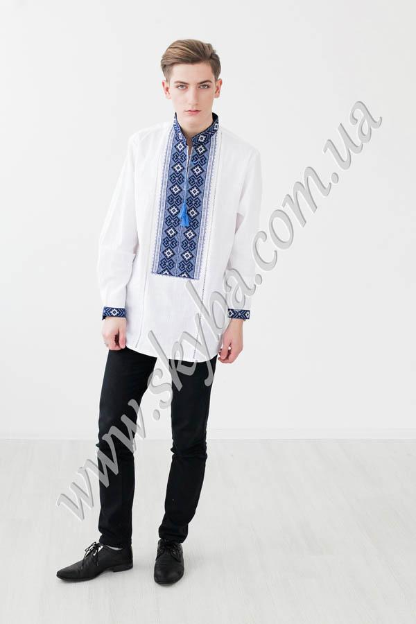 Мужская вышитая рубашка СК1162