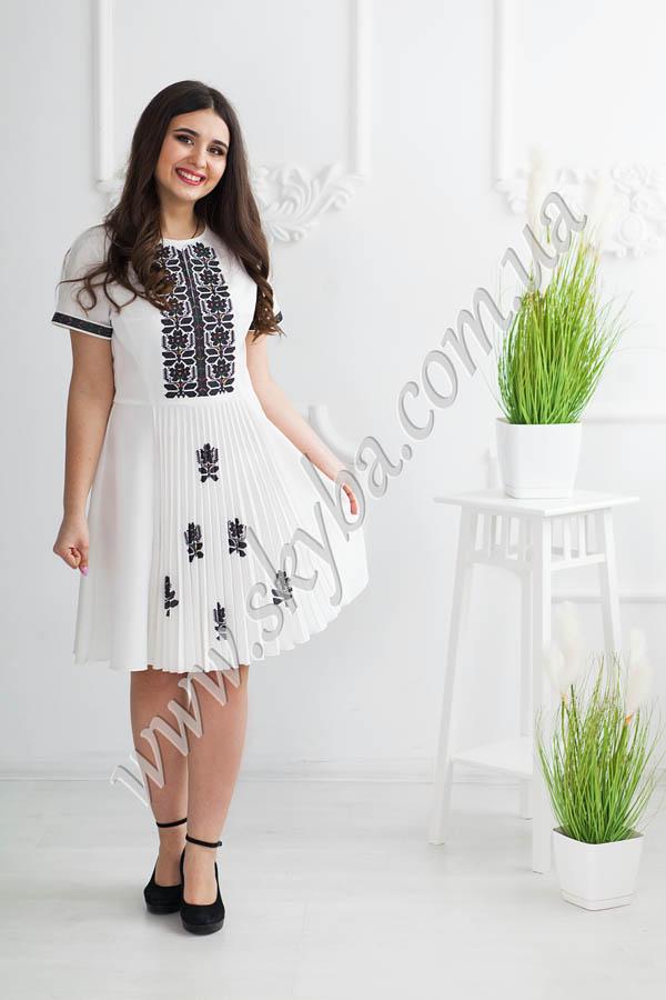 Жіноча сукня  з гофре СК6621