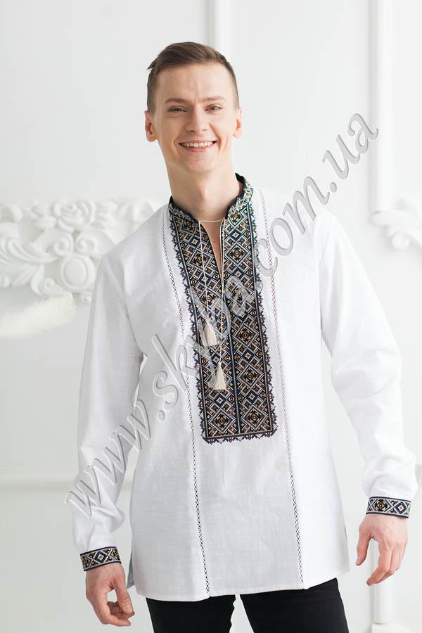 Чоловічі вишиванки - вишиті сорочки купити у Львові або з доставкою 01b2121c3f443