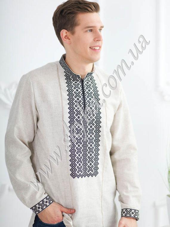 Мужская вышитая рубашка СК1501
