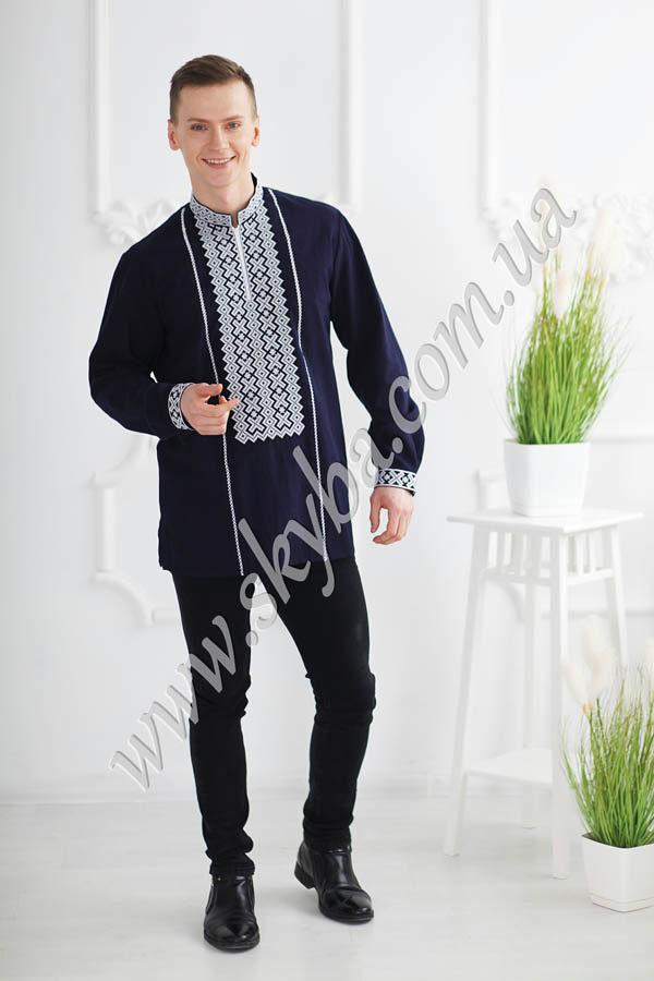 Чоловіча вишита сорочка СК1501