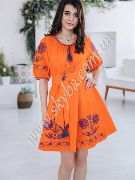 Женское платье СК6651