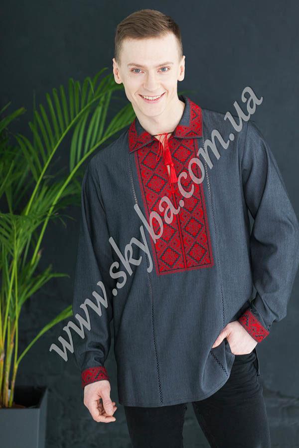 Чоловіча вишита сорочка СК1021