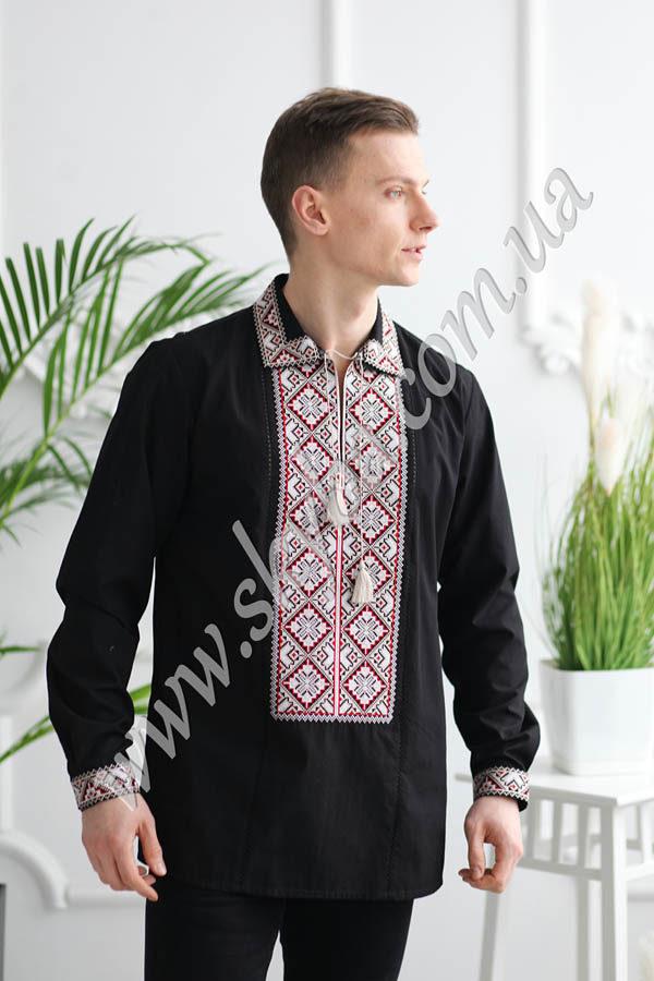 Чоловіча вишита сорочка СК1021M