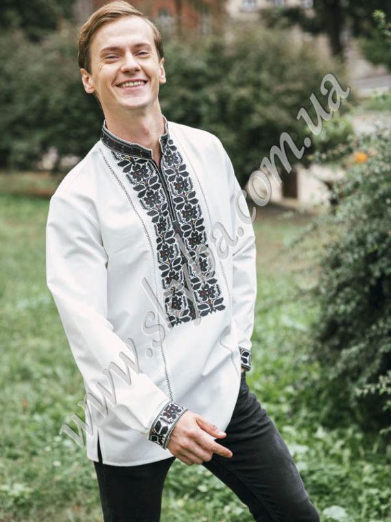 Мужская вышитая рубашка СК1621