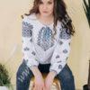 Женская блуза СК2771